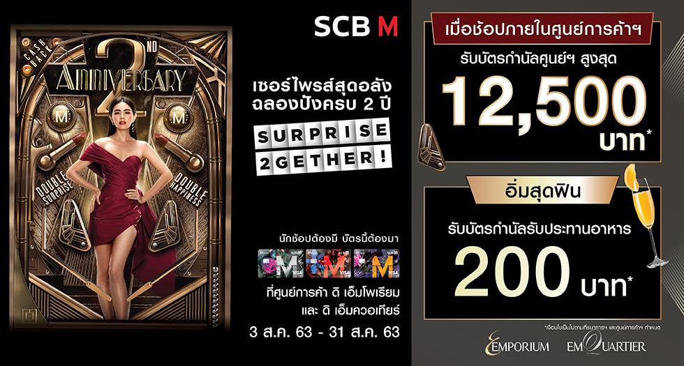 SCB M 2nd Anniversary  Banner